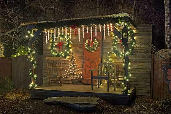 Christmas Cabin Web